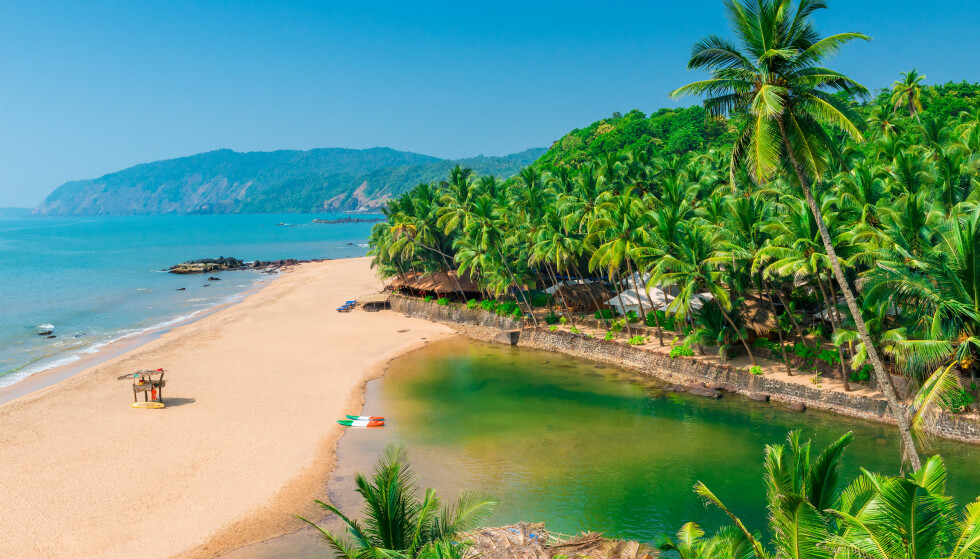 MEST SOL FOR PENGENE I GOA: Goa kan by på 63 soltimer per uke i november, og er det stedet du får flest soltimer per krone, ifølge Forex banks solindeks. Foto: kosmos111 / Shutterstock / NTB scanpix