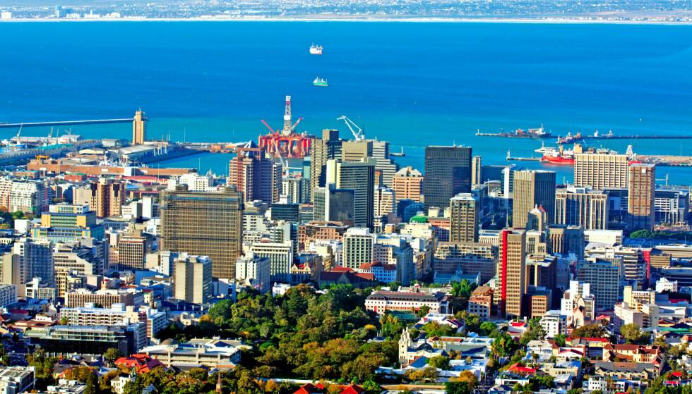 CAPE TOWN: Cape Town kan by på 70 soltimer per uke i november. Foto: AlexTois / Shutterstock / NTB scanpix