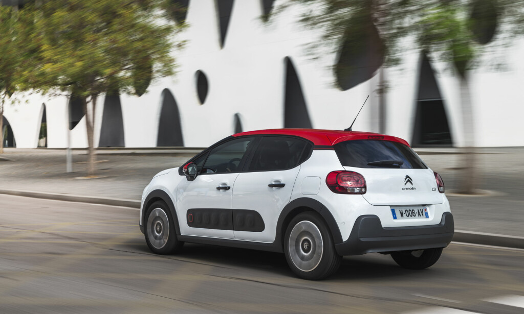 FEM DØRER: C3 kommer til landet i januar. Alle modeller er femdørs kombi. Foto: Citroën