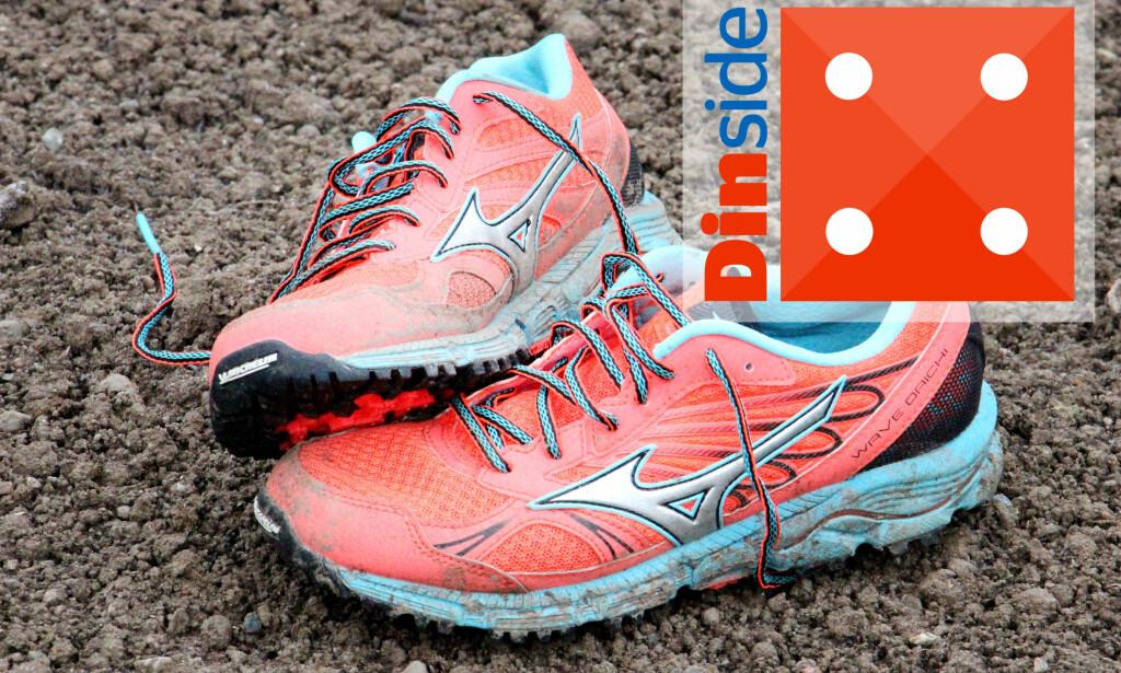 STØDIG: En av de mest komfortable skoene i testen, og den som gir mest støtte. Foto: Ole Petter Baugerød Stokke
