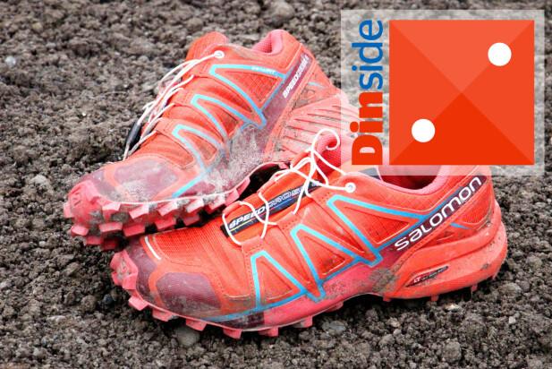 NEI, NEI: Dårlig grep og ukomfortabel sko. Bruk pengene på noe annet! Foto: Ole Petter Baugerød Stokke