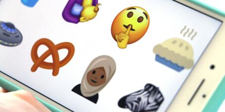 Her er emoji-forslagene for 2017