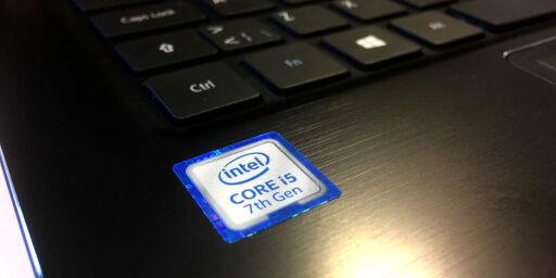 image: Sjuende generasjon Intel Core på testbenken