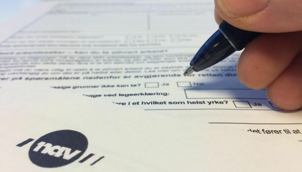ARBEIDSLEDIG: Registrér deg som arbeidssøker så fort som mulig, så du ikke går glipp av dagpenger. Foto: Berit B. Njarga