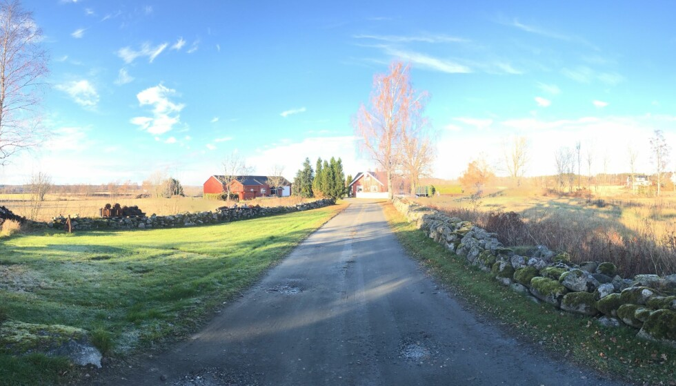 I vanskelige lysforhold blir panoramabildet fra DJI Osmo Mobile noe ujevnt hva gjelder belysning. Bildet er satt sammen automatisk av ni eksponeringer. Foto: Pål Joakim Pollen