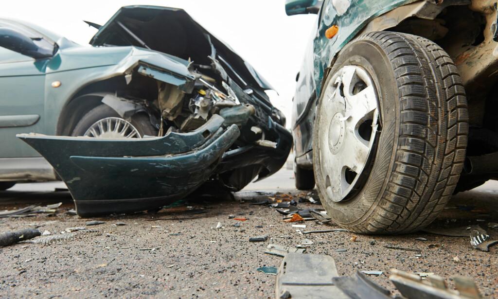 DATA VIL IKKE BRUKES I SKADEOPPGJØR: Ifølge Rema Forsikring, vil ikke data fra Kjør Smart bli brukt i skadeoppgjør, og det skal heller ikke påvirke rabatten. Men du vil likevel få bonustap, som for alle bilforsikringer ved skade. Foto: Shutterstock/NTB Scanpix