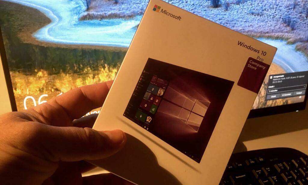 HVEM EIER WINDOWS: Navnet kan endres, for eksempel hvis du har kjøpt en brukt PC. Foto: Bjørn Eirik Loftås