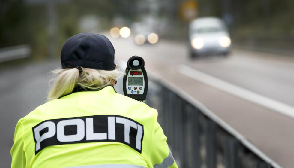 NORGE ER DYREST: Det koster mye mer å bli tatt i fartskontroll i Norge, enn i noe annet OECD-land i verden. Foto: Gorm Kallestad / NTB scanpix