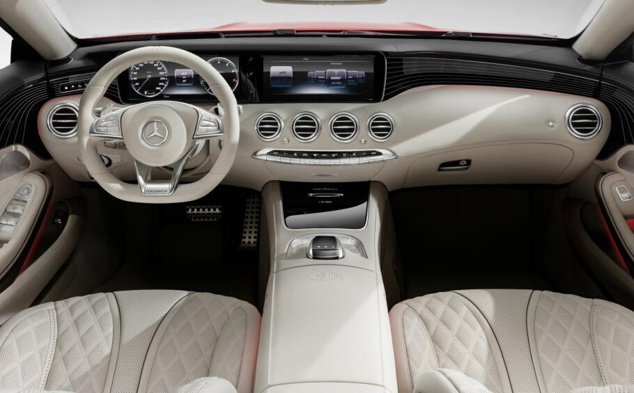 DRØMMEBIL: Maybach var før annen verdenskrig et av de største navnene i bilverdenen. Nå er Mercedes-Maybach det mer luksuriøse søstermerket til Mercedes-Benz. Dette er deres første åpne modell. Foto: Daimler