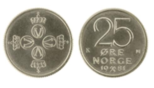 Husker du 10-kronerseddelen og 25-øringen?