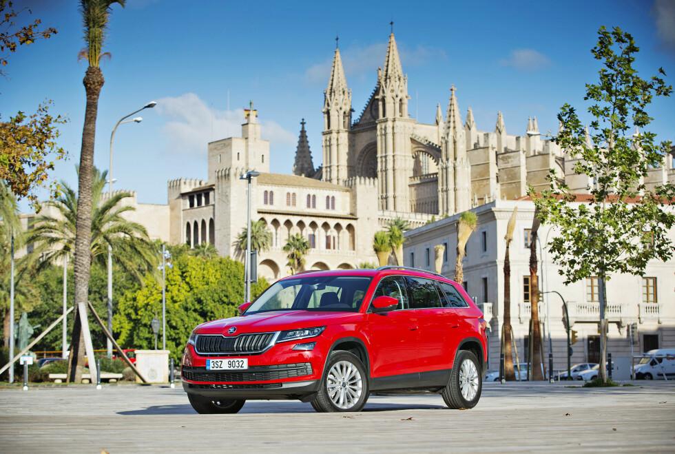 New SUV Skoda Kodiaq was presented to international journalists during dynamic presentation on Tuesday, Nov. 15th, 2016, at Palma de Mallorca, Spain. (CTK Photo/Rene Fluger)