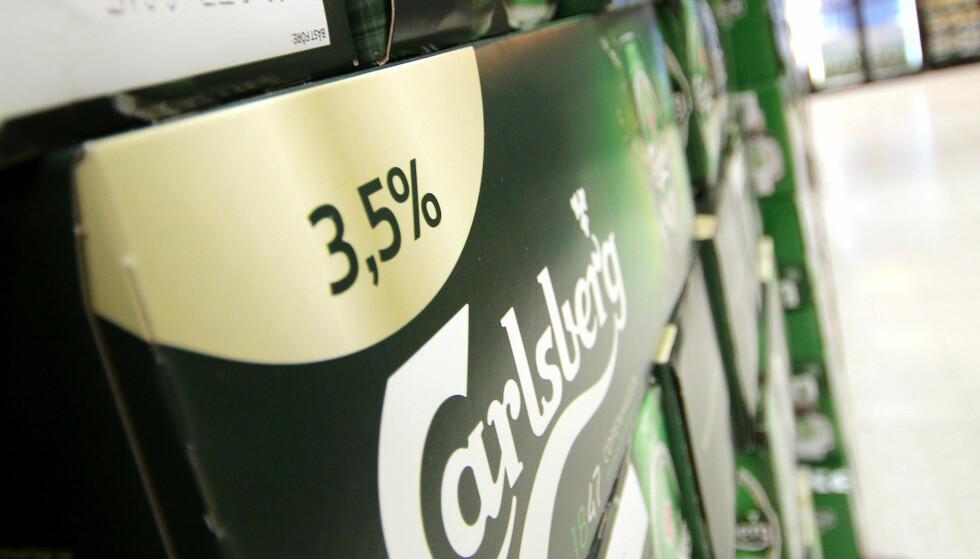 JA, DETTE GÅR PÅ KVOTA: Pass på om du kjøpet folkøl på butikken, det kommer også inn under alkoholkvota! Foto: Ole Petter Baugerød Stokke
