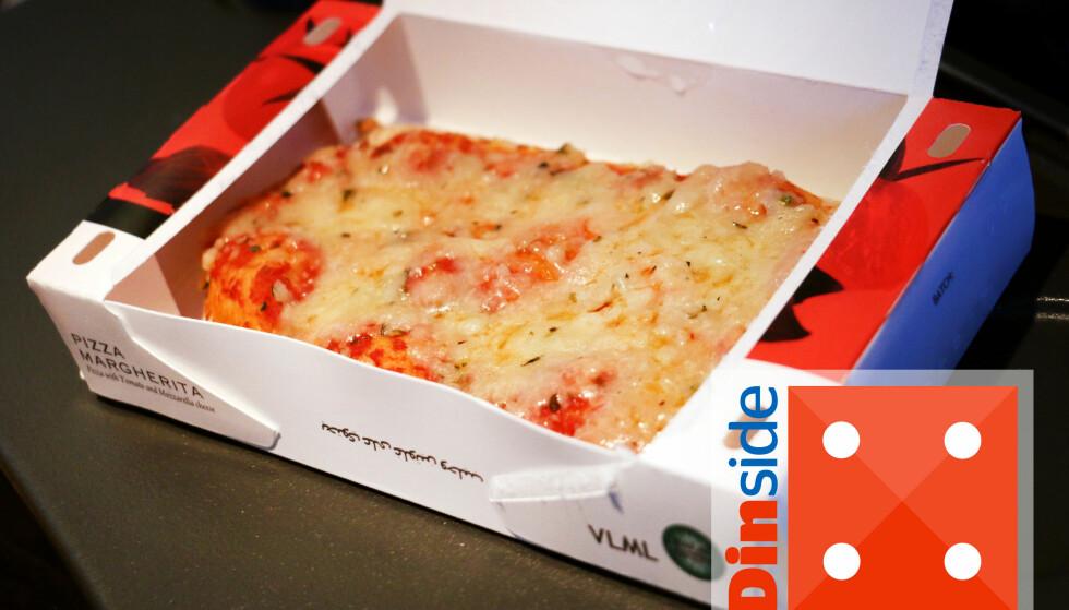 Pizza margherita. Foto: Ole Petter Baugerød Stokke