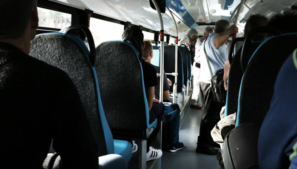 BRA STANDARD: Buss er absolutt et godkjent transportmiddel på Gran Canaria. Foto: Ole Petter Baugerød Stokke