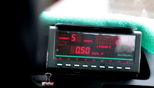SKAL HA TAKSAMETER: Styr unna taxier uten taksameter, som da antakelig er pirattaxier. Foto: Ole Petter Baugerød Stokke