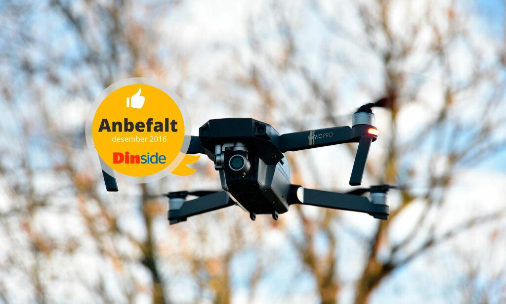 image: TEST: DJI Mavic – dronen som kan pakkes sammen