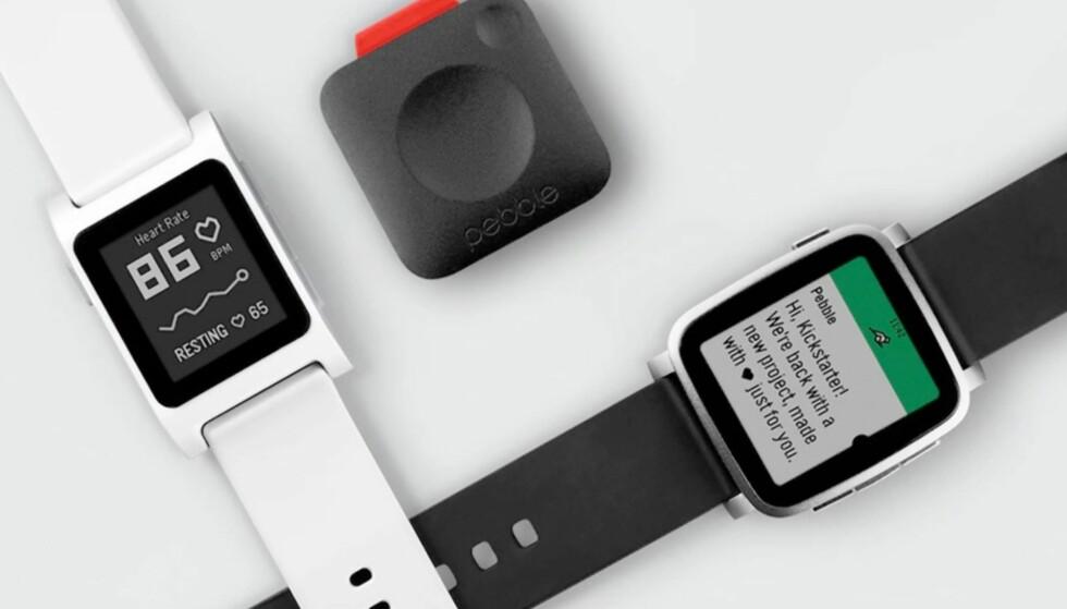 KOMMER ALDRI: De nye Pebble-smartklokkene og den lille musikkspilleren vil aldri se dagens lys. Foto: Pebble