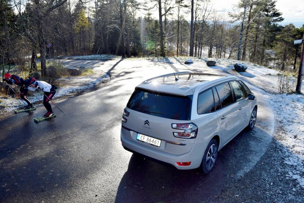 PEN Å SE PÅ: Citroën C4 Picasso-modellene er ikke helt som andre stasjonsvogner.