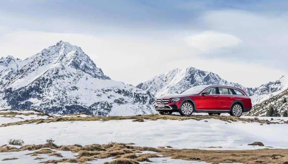 SOM EN DRØM: Mercedes-Benz All-Terrain gir et utrolig godt førsteinntrykk. Foto: Mercedes-Benz