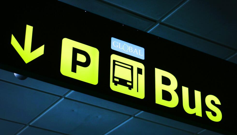 BUSS TIL HOTELLET: På Gran Canaria kan det lokale busselskapet være et vel så godt alternativ, ikke minst med tanke på prisen. Foto: Ole Petter Baugerød Stokke