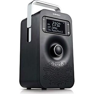 BILLIG: Denne DAB+-radioen med oppladbart batteri koster under 300 kroner i flere butikker. (Foto: Netonet)