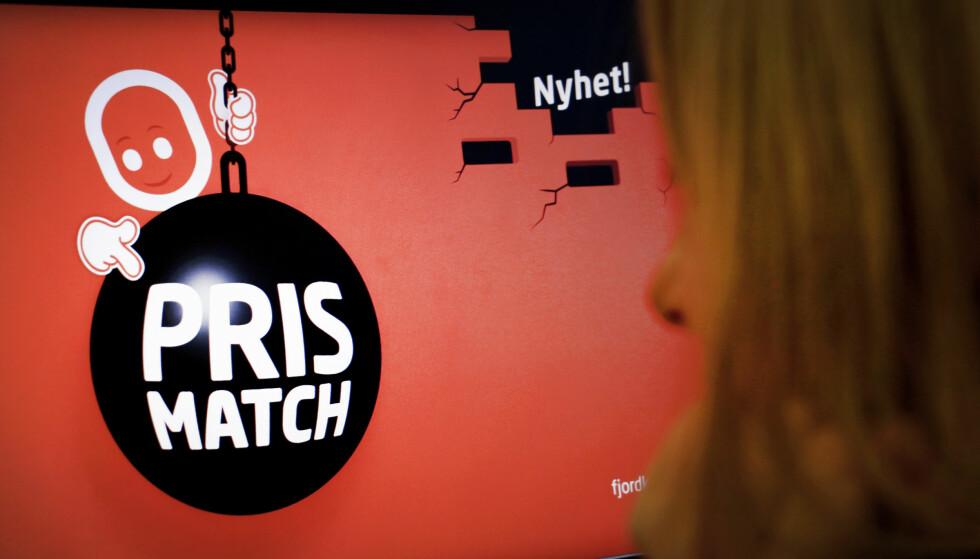 PASS PÅ: «Prismatch» er ikke alltid «prismatch». Foto: Ole Petter Baugerød Stokke