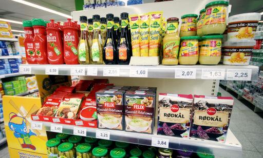 image: Norske matvarer i utlandet: Her får du ketsjup til 60 kroner flaska!