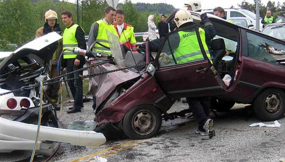 I riktig retning: Antallet drepte i trafikkulykker går kraftig ned.