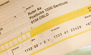 MYE PENGER: Har du vært en trofast betaler, vil Ruter mest sannsynlig belønne deg for det. Foto: Hanna Sikkeland.