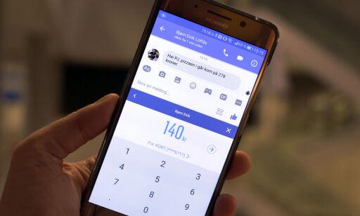 image: Nå kan du betale med Messenger og Snapchat