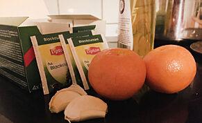 image: Bare tull at C-vitaminer og hvitløk hjelper mot forkjølelsen?