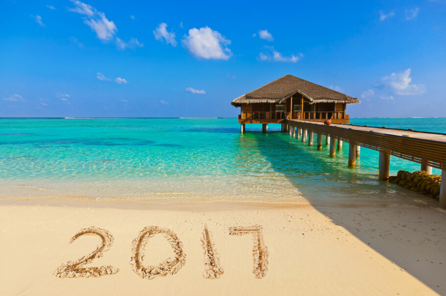 VELKOMMEN FERIEÅRET 2017: Vi kan rope hurra for to flere fridager i 2017 enn det vi fikk i 2016. Til sammen har du ni ekstra fridager å glede deg til i det nye året, i form av ekstrafri som utløses av høytids- og helligdager. Foto: Shutterstock/NTB Scanpix