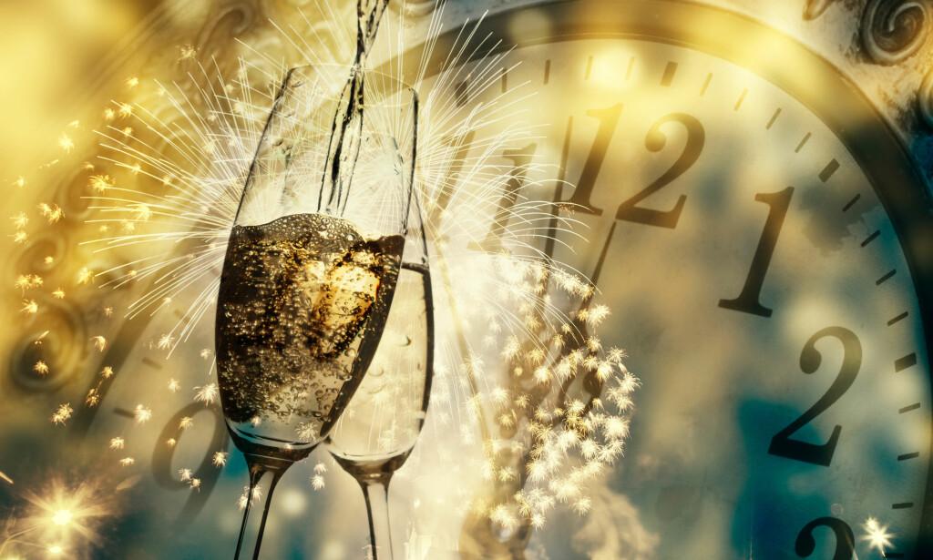 EKSTRA LANG NYTTÅRSFEIRING: Nyttårsfeiringen i år blir ekstra lang: Det skal legges til et skuddsekund! Foto: Shutterstock/NTB Scanpix