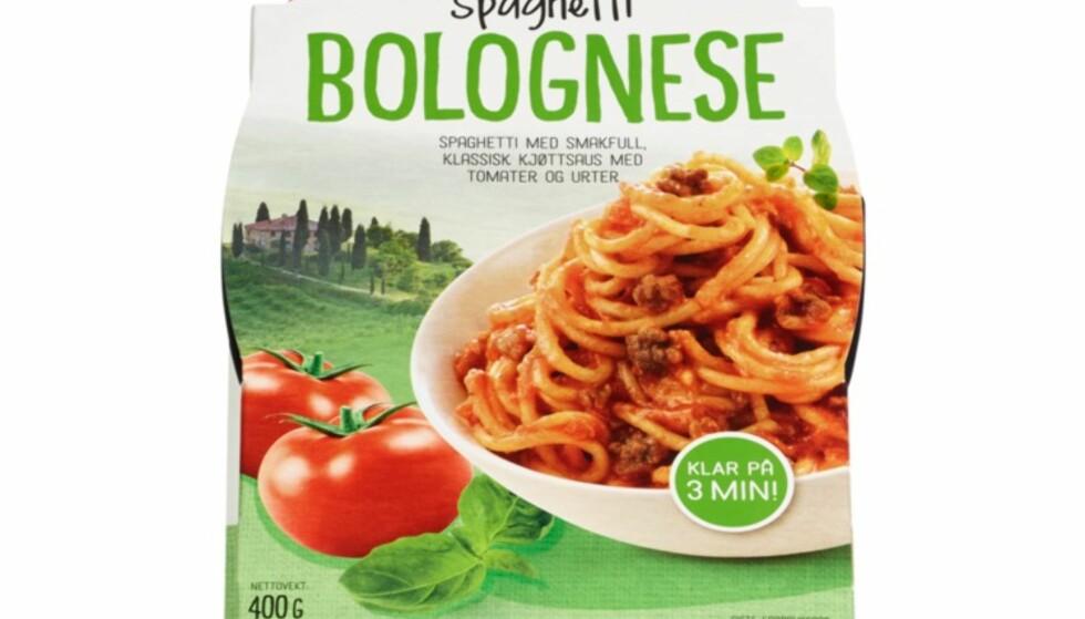 Advarsel:Spaghetti kan inneholde lasagne