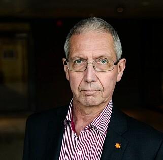 BRUK HODET: Vegdirektør Terje Moe Gustavsen oppfordrer alle bilister til å bruke hodet når de pakker bilen i jula. Foto: Statens vegvesen