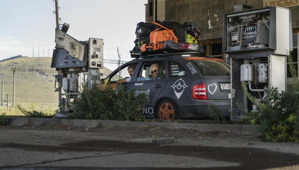 TOM TANK: Ingen Texaco her! Søken etter drivstoff kunne fort bli både vanskelig og nytteløst. Foto: Torkild Bredesen / Peter Byng