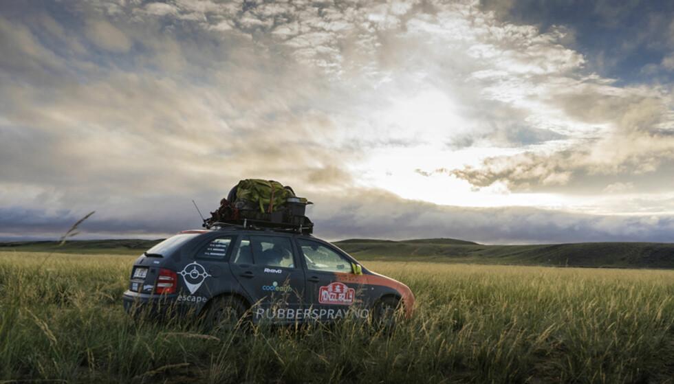 STORSLÅTT: Det mongolske landskapet er virkelig verdt en visitt. Foto: Torkild Bredesen / Peter Byng
