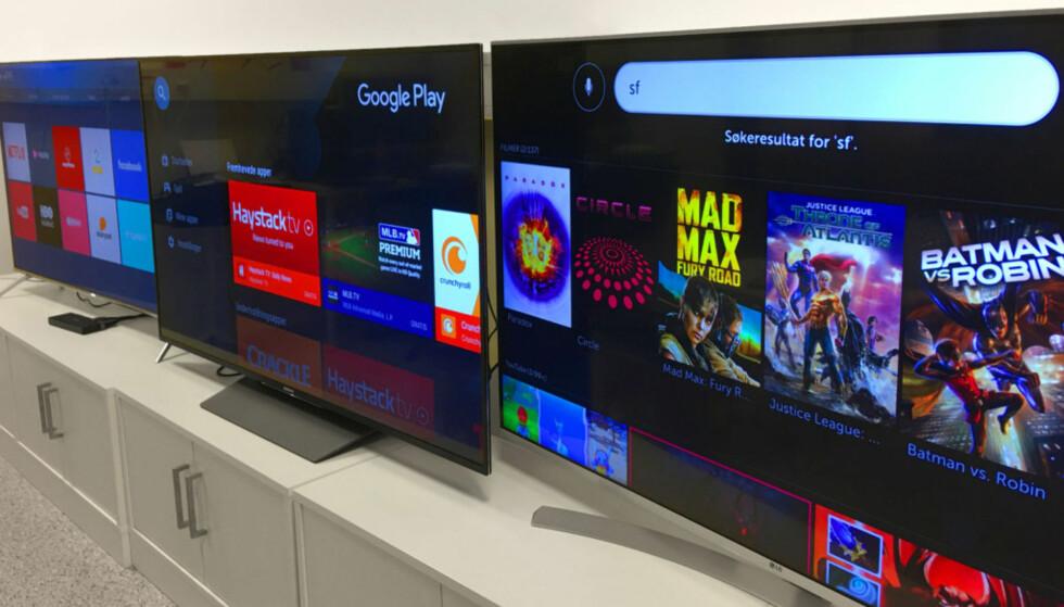 BORTE: Moderne TV-er har stort sett bare HDMI og trådløs nett som forbindelse til omverdenen. De analoge inngangene er ofte fraværende. (Foto: Bjørn Eirik Loftås)