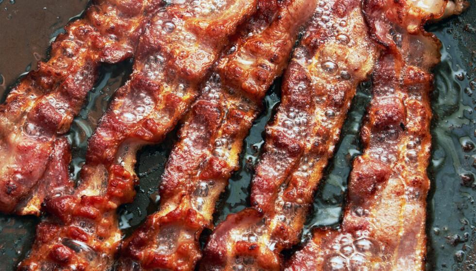 BILLIG BACON: Pleier du kjøpe bacon i Sverige? Vi har sjekket prisene både i Sverige og i Norge. Foto: Volodymyr Krasyuk / NTB scanpix.