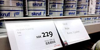 image: Snustabbe på 2 gram fra Tollvesenet krymper taxfree-kvoten
