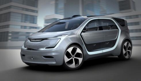 FLERBRUKSBIL: Portal er en typisk flerbruksbil, eller mpv, som de også kalles. Foto: Chrysler