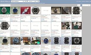 SAMLESØK: WatchRecon.com gir raskt oversikt over det internasjonale bruktmarkedet.