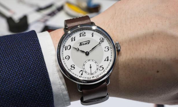 """""""SKIKKELIG KLOKKE"""": Stadig flere legger litt mer penger i et armbåndsur, og ofte av den sveitsiske sorten. Foto: Tidssonen.no"""