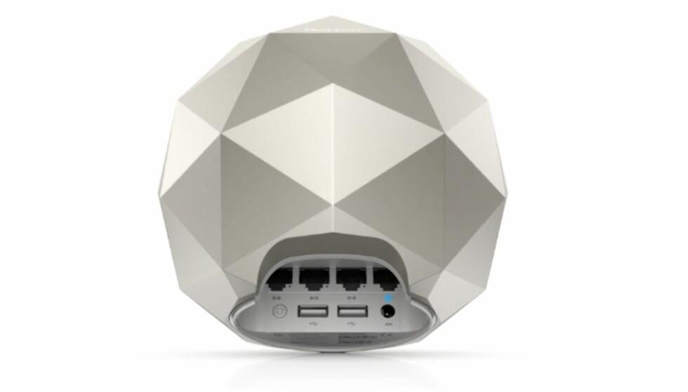 GJEMT: I bunnen av Core finnes utganger til USB og nettverkskabler. Foto: Symantec