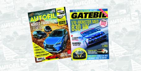 Nytt Autofil + Gatebil i salg NÅ
