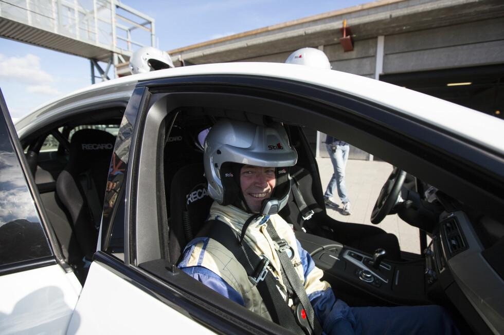 FÅRETE: En real tur med folk som KAN kjøre, gjør sånne ting med gliset ditt. Foto: ERIK FIVE