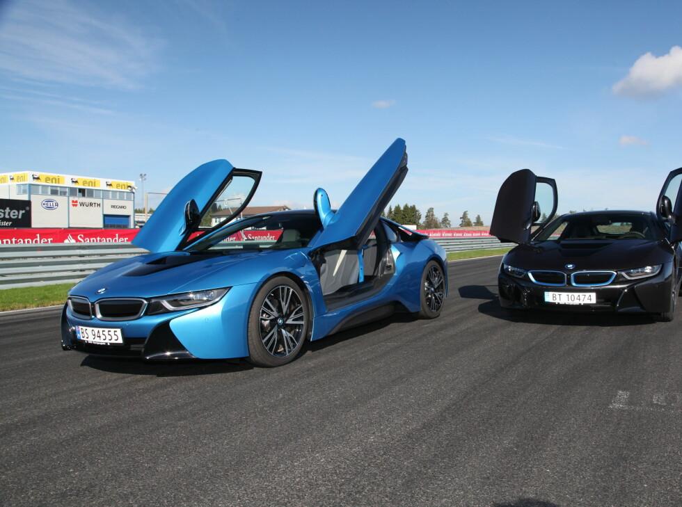 X-FAKTOR: Dette er bilen kjendisene og wannabes vil bli sett i året som kommer.  Foto: RUNE M. NESHEIM