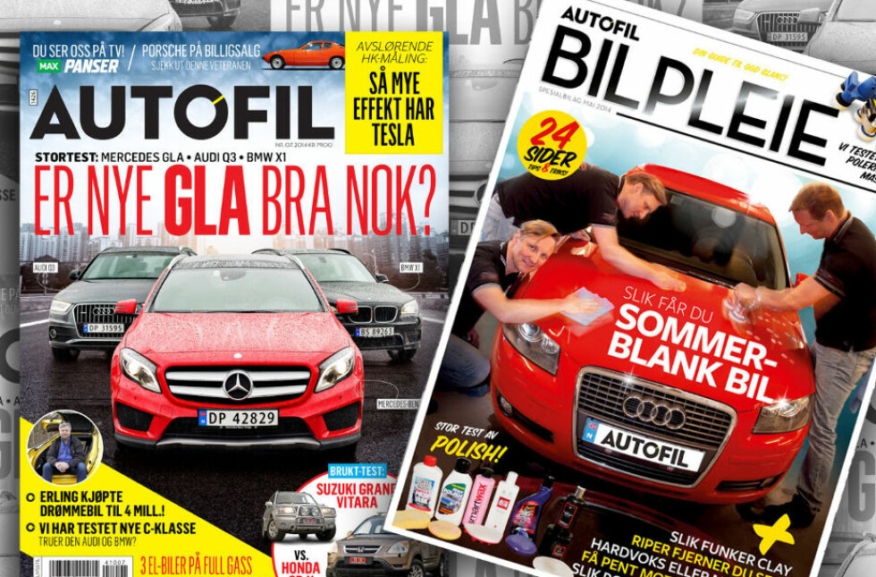 Nytt Autofil i salg nå