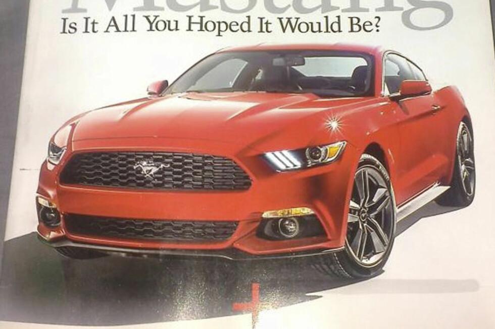 Nye Mustang med 2,4 liters Turbomotor på 310 hester