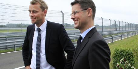 Statsråden fikk oppfylt Porsche-drømmen